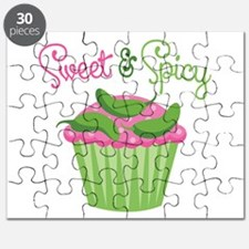 Sweet Spicy Jalapeño Cupcake Puzzle
