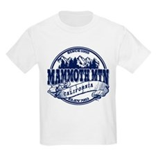 Mammoth Mtn Old Circle Blue T-Shirt