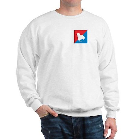 Komondor Diagonal Sweatshirt