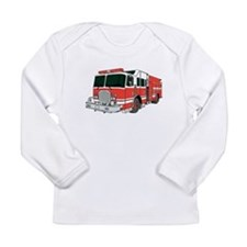 Red Fire Truck Long Sleeve T-Shirt