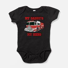 My Daddys My Hero Baby Bodysuit