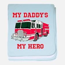 My Daddys My Hero baby blanket