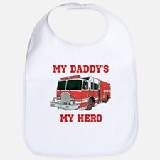 My Daddys My Hero Bib