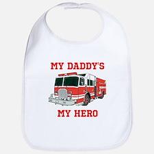 My Daddys My Hero Bib