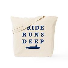 Pride Runs Deep with Submarine Tote Bag