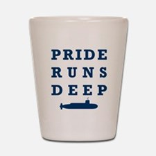 Pride Runs Deep with Submarine Shot Glass