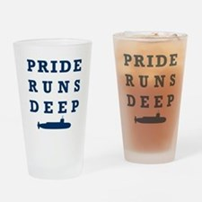 Pride Runs Deep with Submarine Drinking Glass