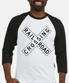 Rail Road Crossing Baseball Jersey
