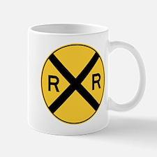 Rail Road Crossing Mugs