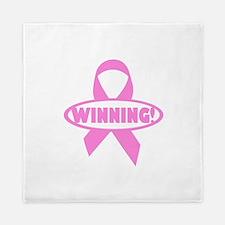Winning Against Cancer Queen Duvet
