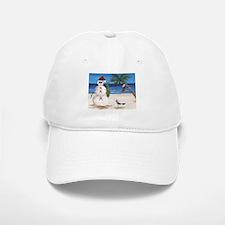 Christmas Beach Sandman Baseball Cap