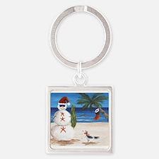 Christmas Beach Sandman Keychains