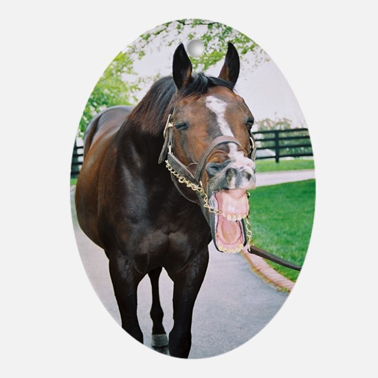 """A.P. INDY """"Laughin"""" Christmas Ornament"""