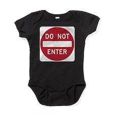 Do Not Enter Baby Bodysuit