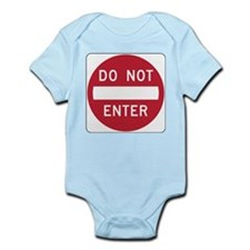 Do Not Enter Body Suit