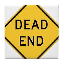 Dead End Tile Coaster