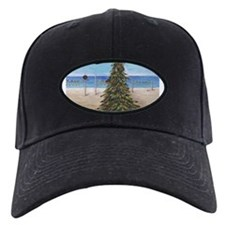 Christmas Beachy Tree Baseball Hat