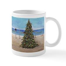 Christmas Beachy Tree Mugs