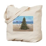 Christmas beachy Canvas Totes