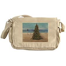 Christmas Beachy Tree Messenger Bag