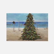 Christmas Beachy Tree Magnets