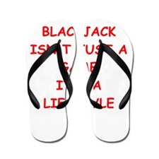 BLACKJACK Flip Flops