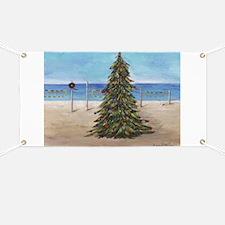Christmas Beachy Tree Banner