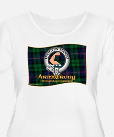 Armstrong Clan Plus Size T-Shirt