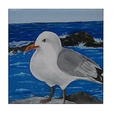 Seagull Tile Coaster