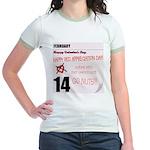 Red Appreciation Day! Jr. Ringer T-Shirt