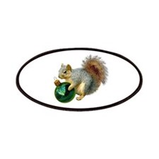 Squirrel Ornament Patches