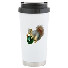 Squirrel Ornament Travel Mug