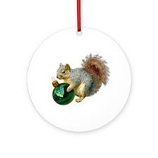 Squirrel Ornament Ornament (Round)
