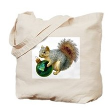 Squirrel Ornament Tote Bag