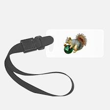Squirrel Ornament Luggage Tag