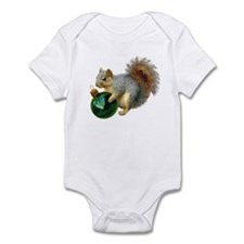 Squirrel Ornament Infant Bodysuit