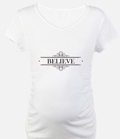 Believe Calligraphy Shirt