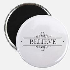Believe Calligraphy Magnet