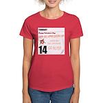 Red Appreciation Day! Women's Dark T-Shirt