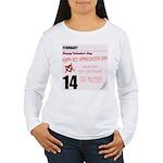 Red Appreciation Day! Women's Long Sleeve T-Shirt
