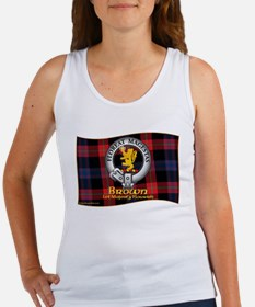 Brown Clan Tank Top