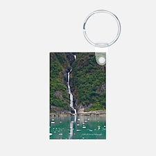 Glacier Waterfall Keychains