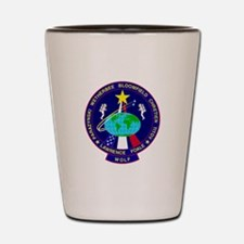 STS - 86 Discovery Shot Glass