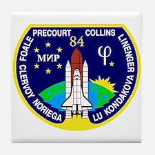 STS-84 Atlantis Tile Coaster