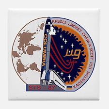 STS-87 Atlantis Tile Coaster