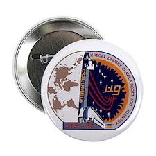 "STS-87 Atlantis 2.25"" Button"