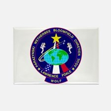 STS - 86 Discovery Rectangle Magnet