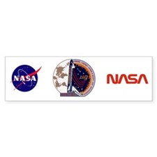STS-87 Atlantis Bumper Sticker