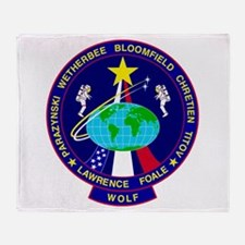 STS - 86 Discovery Throw Blanket
