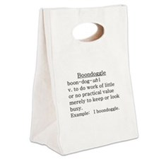Boondoggle Definition Canvas Lunch Tote